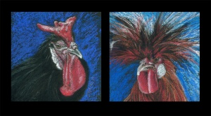 Fair Fowl Firsts Dyptych