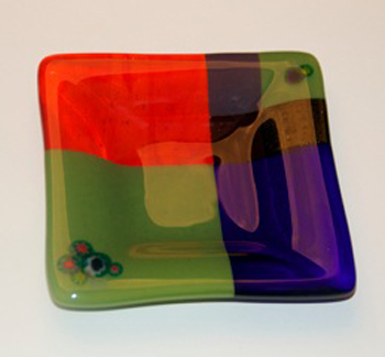 Johnna Morrow fused glass