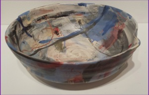 Kathleen Crook Shallow Bowl