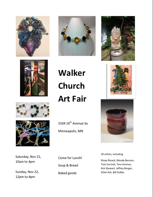 walker church art fair