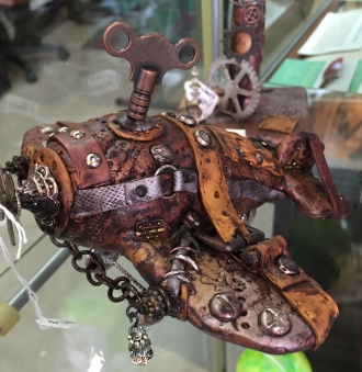 Marilyn Morrison Steampunk Airplane
