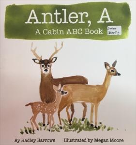 Antler, A Megan Moore Illustrator