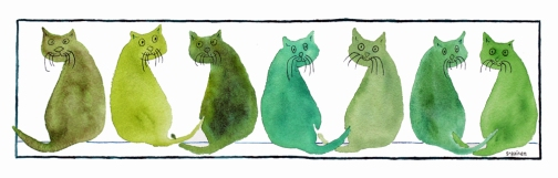 7 Who Me? Cats: Susan Gaine