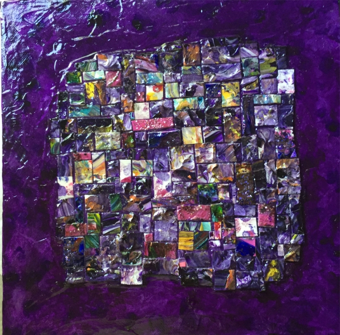 purple square one