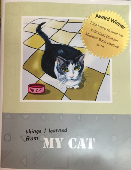 Things I learned from my cat (Karen Caldwell: author)