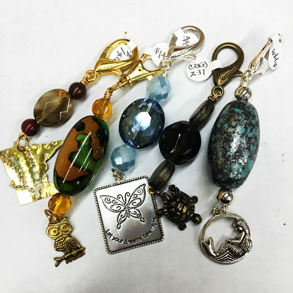 Carla Brown: Key Chains & Zip Pulls