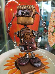 Marilyn Morrison Polymer Clay Robots