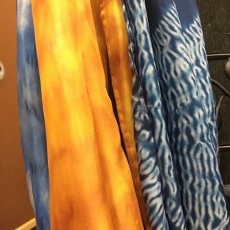 Becky Kroll Silk Scarves